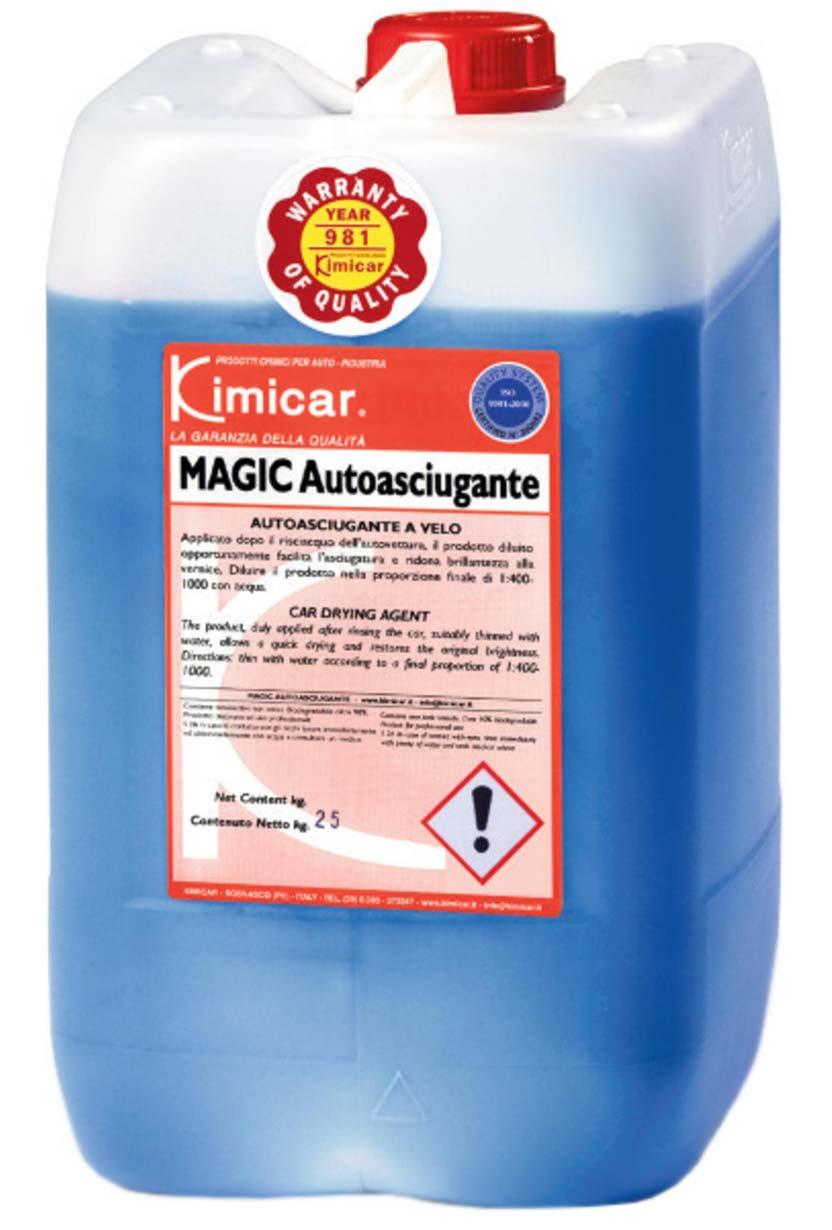Magic autosciugante
